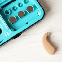 Hearing Aid and Case